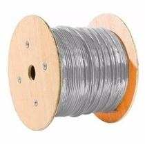 BOBINA DE CABLE UTP CAT5e EXT. DOBLE FORRO 305 METROS